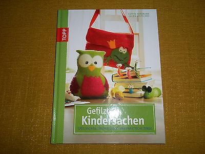 Gefilzte Kindersachen - Spielsachen, Dekorationen und Dinge  - TOPP - NEU !