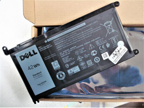 New Original 42Wh Dell Inspiron 15-5567 5568 14-7460 P58F T2JX4 Battery WDXOR