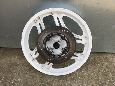 Honda Nsr125 Front Wheel And Disc From A 1990 Model