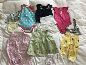 Baby summer clothes 0-3 months