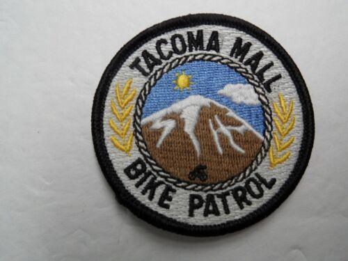 TACOMA MALL BIKE PATROL - WA WASHINGTON PD - SECURITY POLICE patch