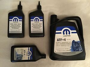 atf 4 automatic transmission nv247 transfer case fluid jeep chrysler dodge ebay. Black Bedroom Furniture Sets. Home Design Ideas