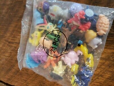 New 24pcs Mini Lovely Lots 2-3cm Pokemon Monster Mini Random Figures