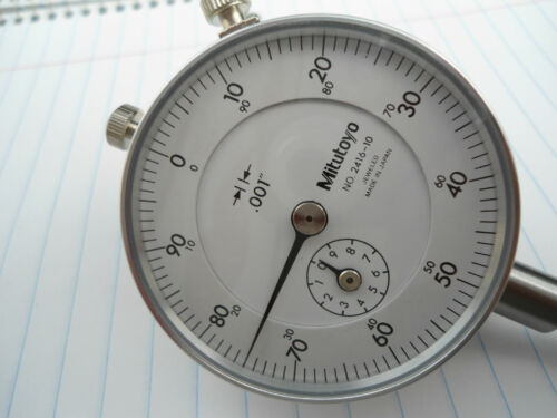 New bezel with lens only for mitutoyo dial indicator made in USA.