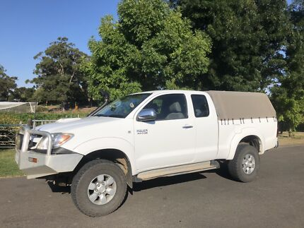 2007 SR5 Toyota Hilux Extra Cab Uraidla Adelaide Hills Preview