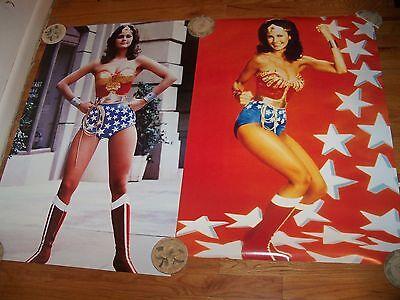 Lynda Carter Wonder Woman Poster Lot    MINT