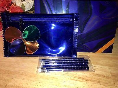 NEW PRICE DROP!i MAC SHINY PRETTY BRUSH PARTY ADVANCED EYES Eyeshadow Brush Set. for sale  Giddings