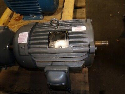 New Baldor 10 Hp Ac Electric Haz Loc Motor 215t 575 Vac 1765 Rpm Tefc Em7170t-5