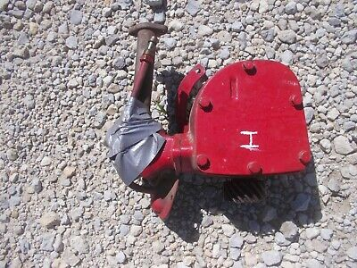 Farmall Ih H Tractor Original Governor Assembly W Straw