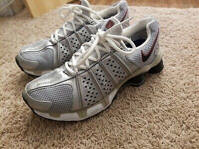 Men's 8.5 Nike Shox Cognescenti Silver Black Running Shoes Cog Athletic Shoes