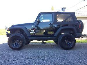 Jeep wrangler X, 2008,