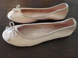 Ballet Pink Flats - Size 6 Women's (Size 4 Girls Youth)