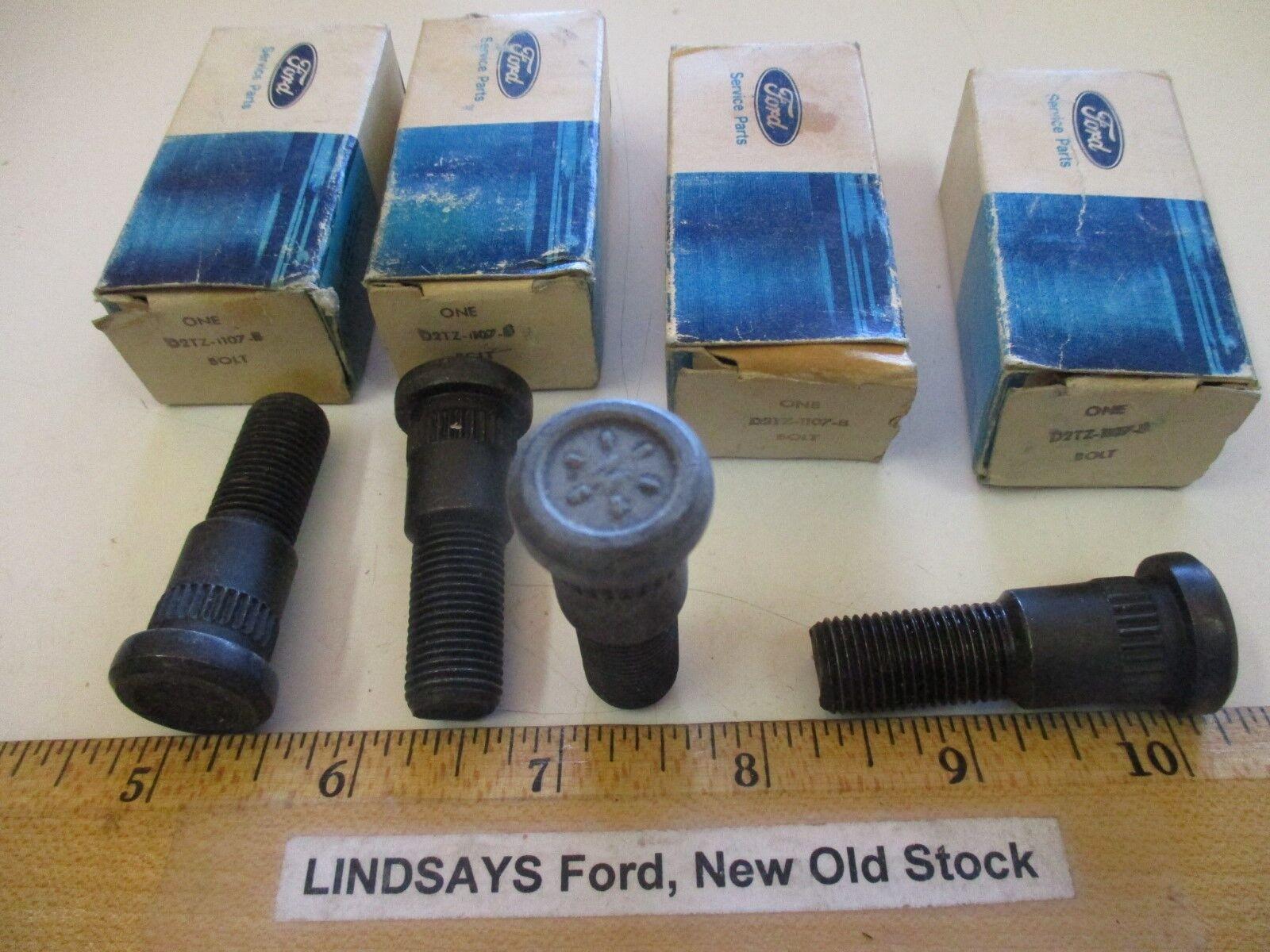 "4 PCS FORD 1972/2014 ""BOLT"" (WHEEL HUB) 1/2""-20 X 1 3/4""LG GRADE 8 FREE SHIPPING"