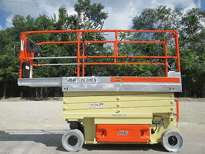 2013 Jlg 2630es Electric Scissor Lift Aerial Lift 800lb Capacity Jlg Lift