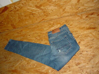 Stretchjeans/Jeans v.BLUE RIDGE Gr.W31/L34 dunkelblau used JIM Skin