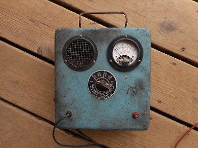 Motor Analyzer Test Equipment Th Motor Vintage Shop Garage Old School Rat Rod
