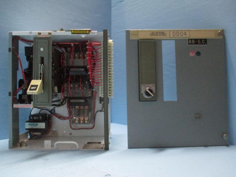 "Siemens Tiastar Furnas 89 Size 1 Reversing Starter 30A Fused 18"" MCC MCCB Bucket"