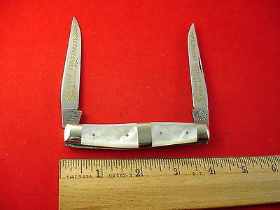 FIGHT'N ROOSTER PEARL MUSKRAT 10TH ANN KENTUCKY CUTLERY 1986 #015 GERMAN KNIFE