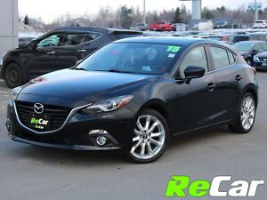 2015 Mazda Mazda3 GT HEATED LEATHER | NAV | BACK UP CAM | SUN...