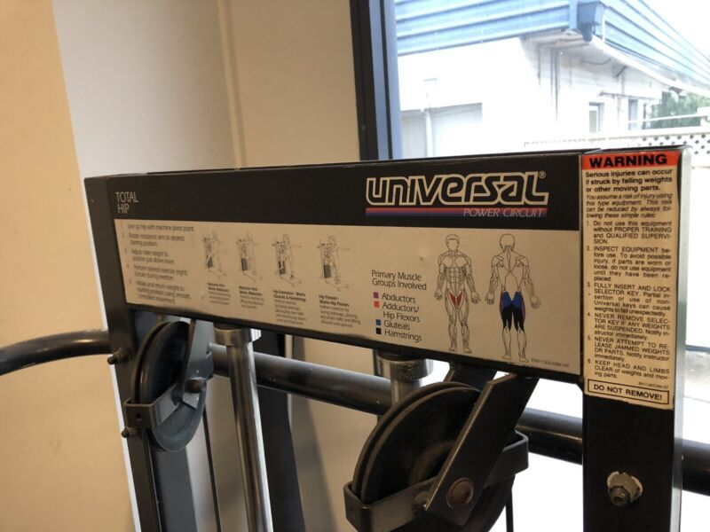 Hip Extension Machine | Gym & Fitness | Gumtree Australia