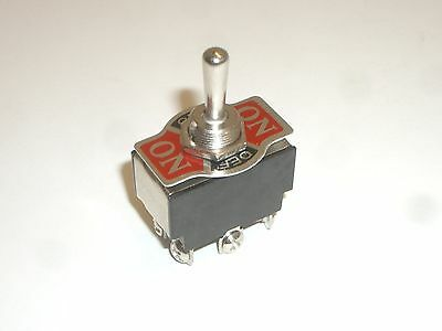 Workman R13-8a Dpdt Momentary On-off-on Toggle Switch 15a125vac 10a250vac