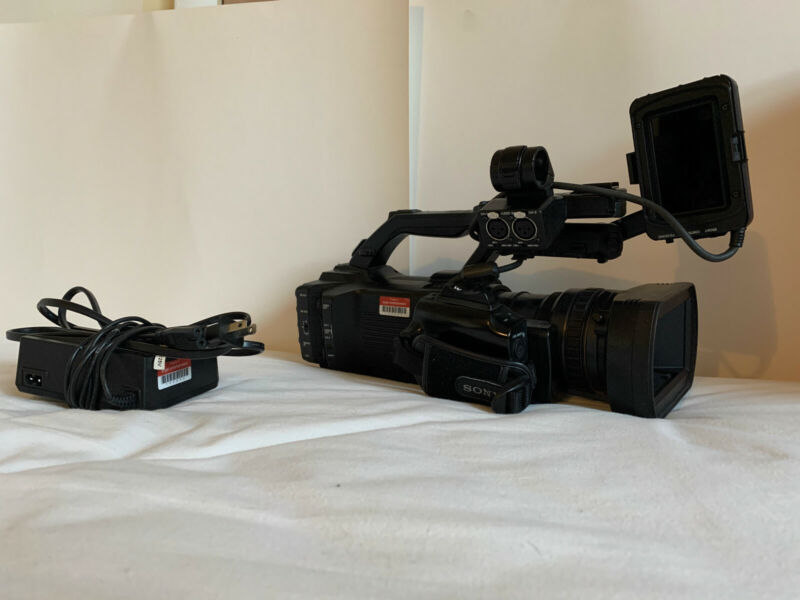 Sony PMW-300 Professional Camcorder - Black