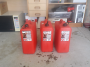 Three 20 litre jerry cans Monash Tuggeranong Preview
