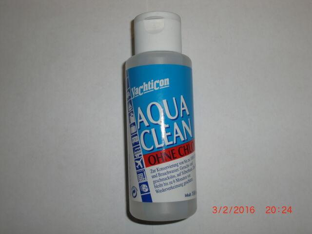 Aqua Clean ohne Chlor.100ml Trinkwasser Konservierung. Grundpreis je Ltr.85,00€