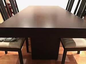 Dining Table (West Elm) & 6 Chairs Kings Cross Inner Sydney Preview