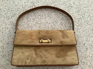 Vintage African dikdik genuine 100% leather skin fur hand bag Cleveland Redland Area Preview