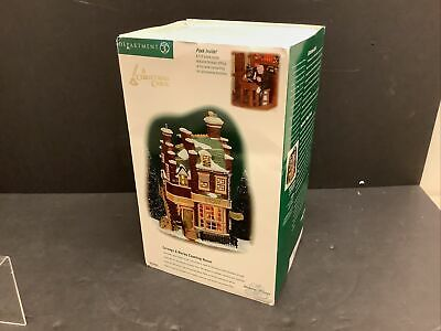 Department 56 Dickens Village Scrooge and Marley Counting House Lit Building