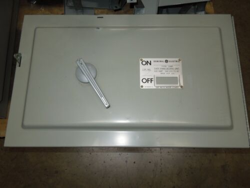 Ge Qmr325 / Thfp325 400a 3ph 240v Fusible Panelboard Switch W/ Hardware Surplus