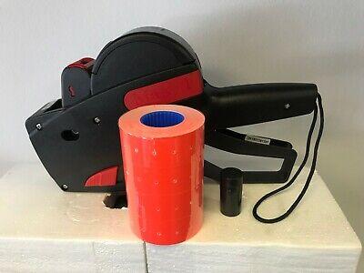 New Price Marking Gun 4000 Red Labels 1 Ink Rollerstickertagmonarchtowa