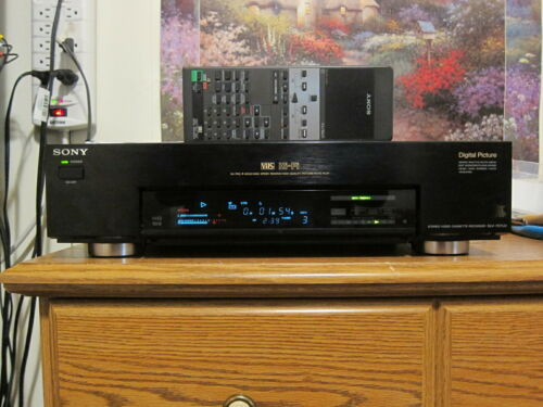 Sony SLV-757UC DA Pro 4Head HiFi VCR VHS with remote