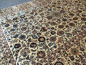 EXTRA LARGE SIZE SUPERB QUALITY HAND MADE PERSIAN KASHAN RUG Rose Bay Eastern Suburbs Preview