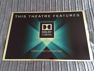Dolby Cinema Sign
