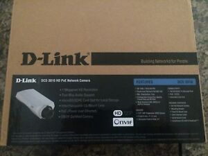 D link HD PoE Fixed Network security Camera DCS‑3010 (New)