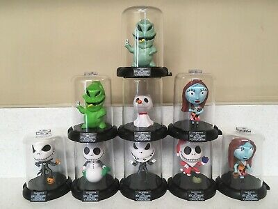 Nightmare Before Christmas Domez Series 1 full set of 9 w/ Rare Oogie Boogie