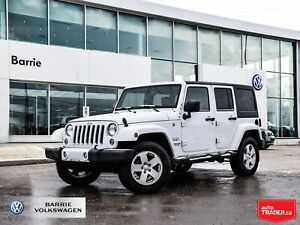 2016 Jeep WRANGLER UNLIMITED Sahara, CLOTH/TWO TOPS/BLUETOOTH