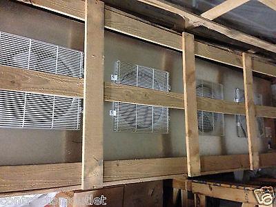 New Center Mount Air Defrost Walk In Cooler 4 Fan Evaporator 20,800 Btu's 220V