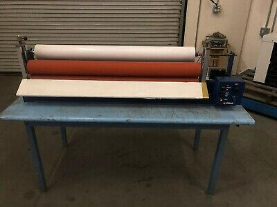Coda Model Cmp44-ms Cold Mount Motorized Laminator Machine