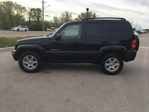 2003 JEEP LIBERTY LIMITED SAFETIED