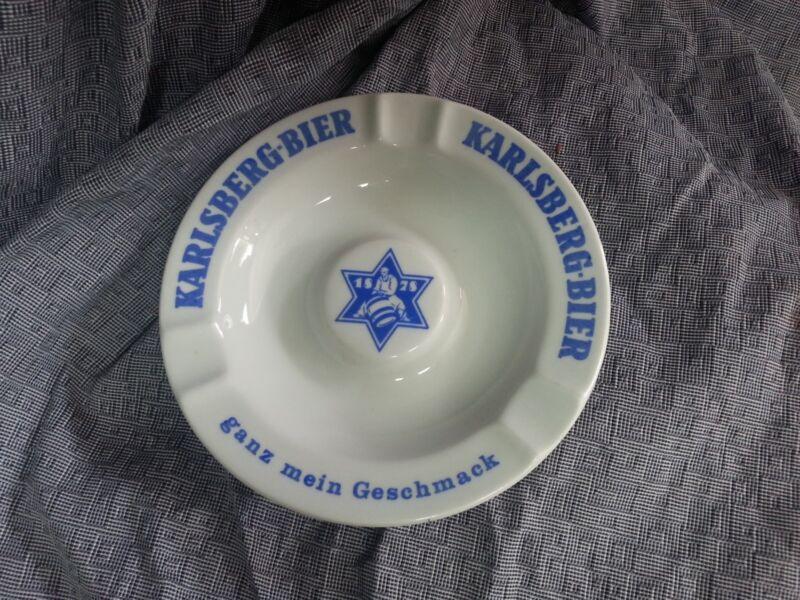 Vintage KARLSBERG BIER ASHTRAY HOHR GRENZHAUSEN GERMANY BEER