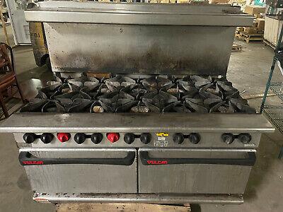 Vulcan G60l Ten Burner Gas Range W Lower Oven