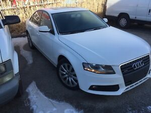 2011 Audi A4 fully loaded with low kms!