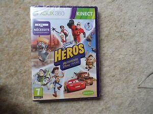 Disney Kinect Rush - Xbox 360  - Brand New & Sealed - French Version - HEROS