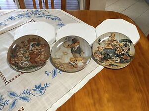 Franklin MInt Limited Edition Teddy Bear Plates Wamberal Gosford Area Preview