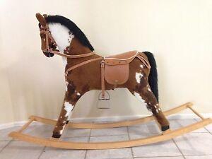 Vintage ROCKING HORSE - wooden Shellharbour Shellharbour Area Preview