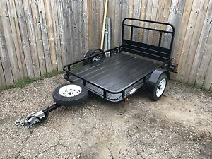 4'x6' Steel Trailer with Ramp