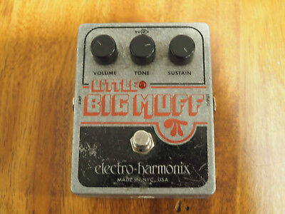 Electro-Harmonix Little Big Muff Distortion Guitar Effect Pedal
